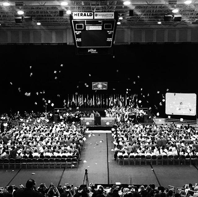 Hats off!  Graduation season is here!