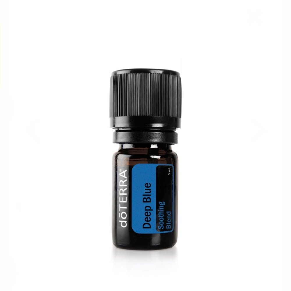DEEP BLUE - Anti inflammatory + soothingIt's great for sore muscles, neck pain and grow pain for children.Add one drop in a carrier oil and apply to the area of concern.