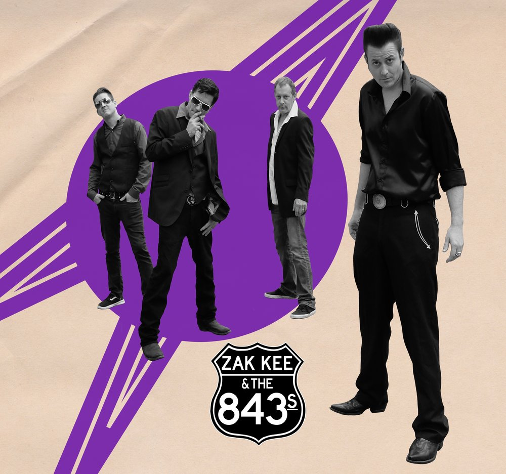 zakk key and the 843s - Rockabilly (Charleston SC)Facebook   Soundcloud   Bandcamp   Reverbnation