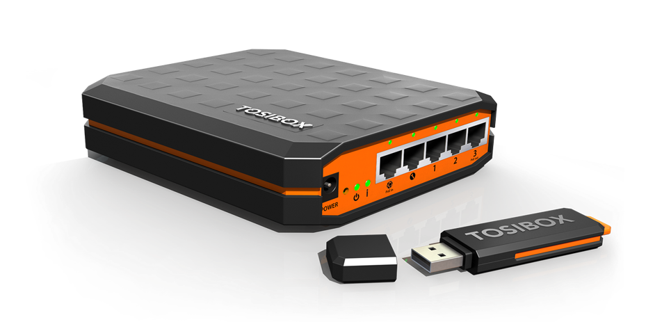 STEP ONE - Create your Maintenance & IoT networking infrastructure in minutes, not hours or days, using Tosibox technology.