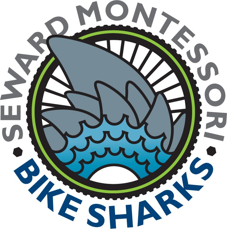 SEWARD MONTESSORI BIKE SHARKS - Biking to school is fun, healthy, and often faster than the school bus. Seward has an automated bike program that rewards kids for riding their bike to school.CLICK HERE TO LEARN MORE!