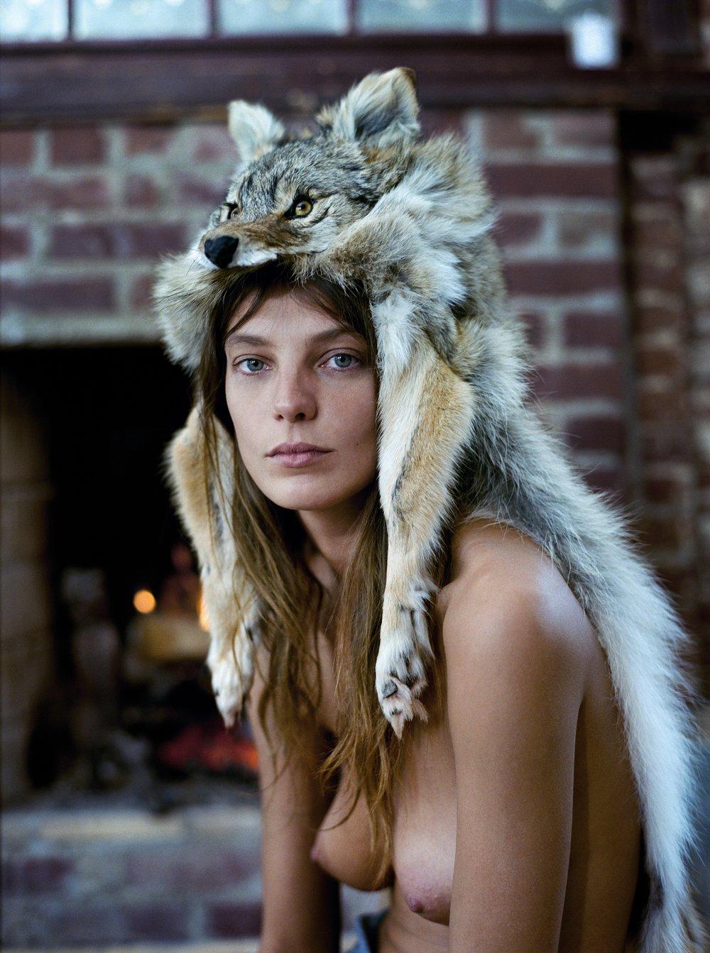 Daria in Fox Hat, 2010
