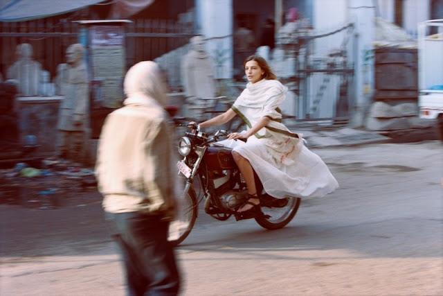 Daria on Motorcycle, 2012