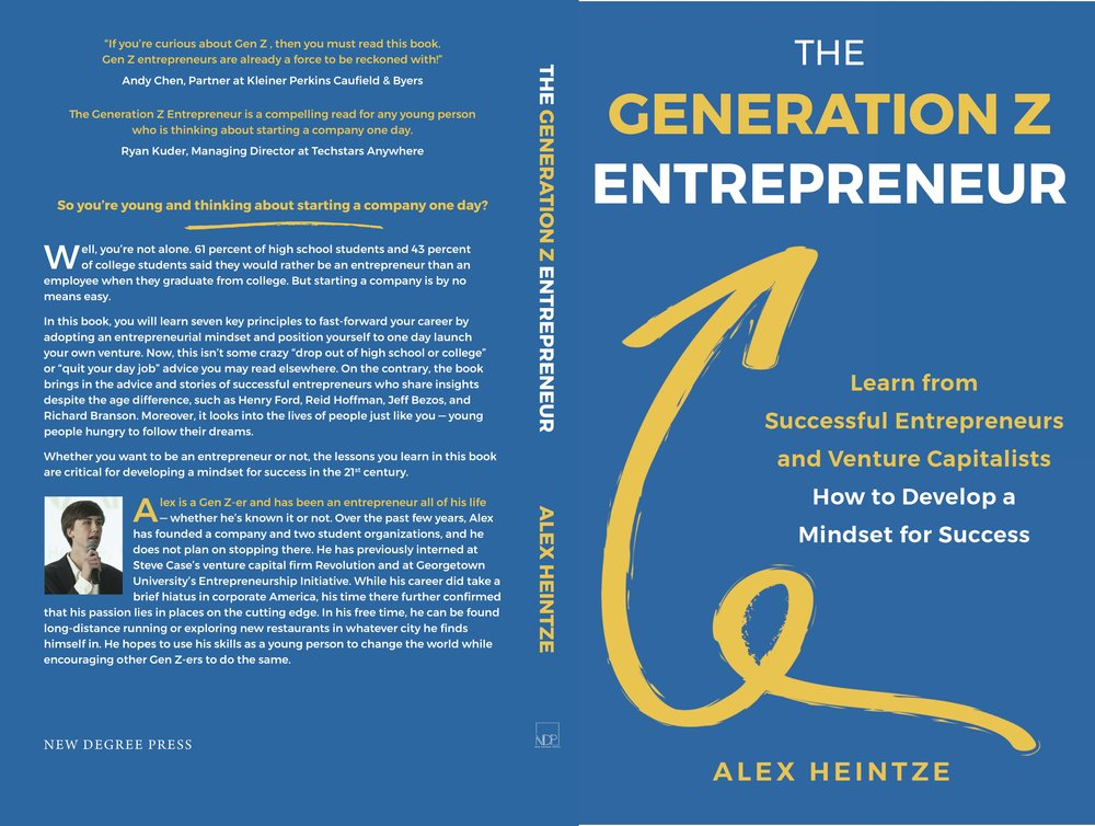 So you're young and thinking about starting a company one day? - Well, you're not alone. 61 percent of high school students and 43 percent of college students say they would rather be an entrepreneur than an employee when they graduate from college. But starting a company is by no means easy.In The Generation Z Entrepreneur, Alex Heintze details seven key principles to fast-forward your career by adopting an entrepreneurial mindset and positioning yourself to, one day, launch your own venture. Now, this isn't some crazy