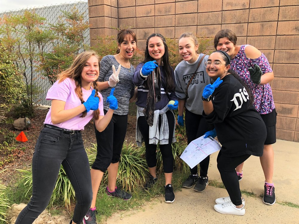 Campus cleanup 9/29/18