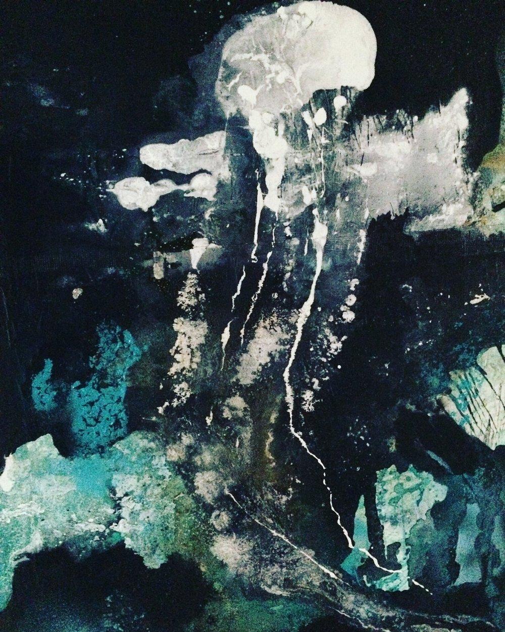 """""""Le Monde du Silence"""", 36x48in"""