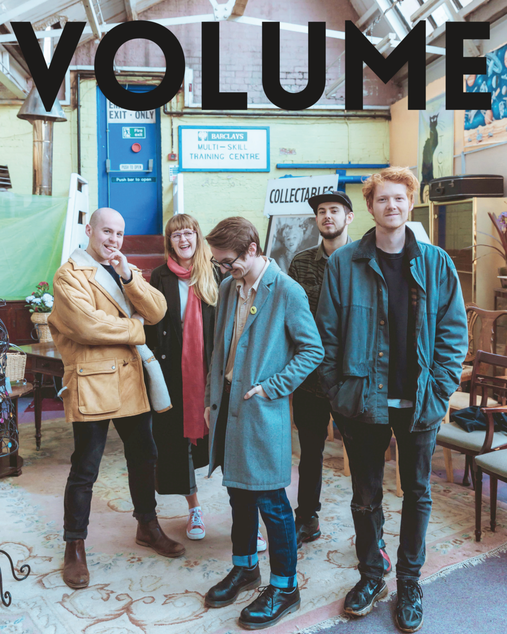 VOLUME ISSUE #1 - READ HERE