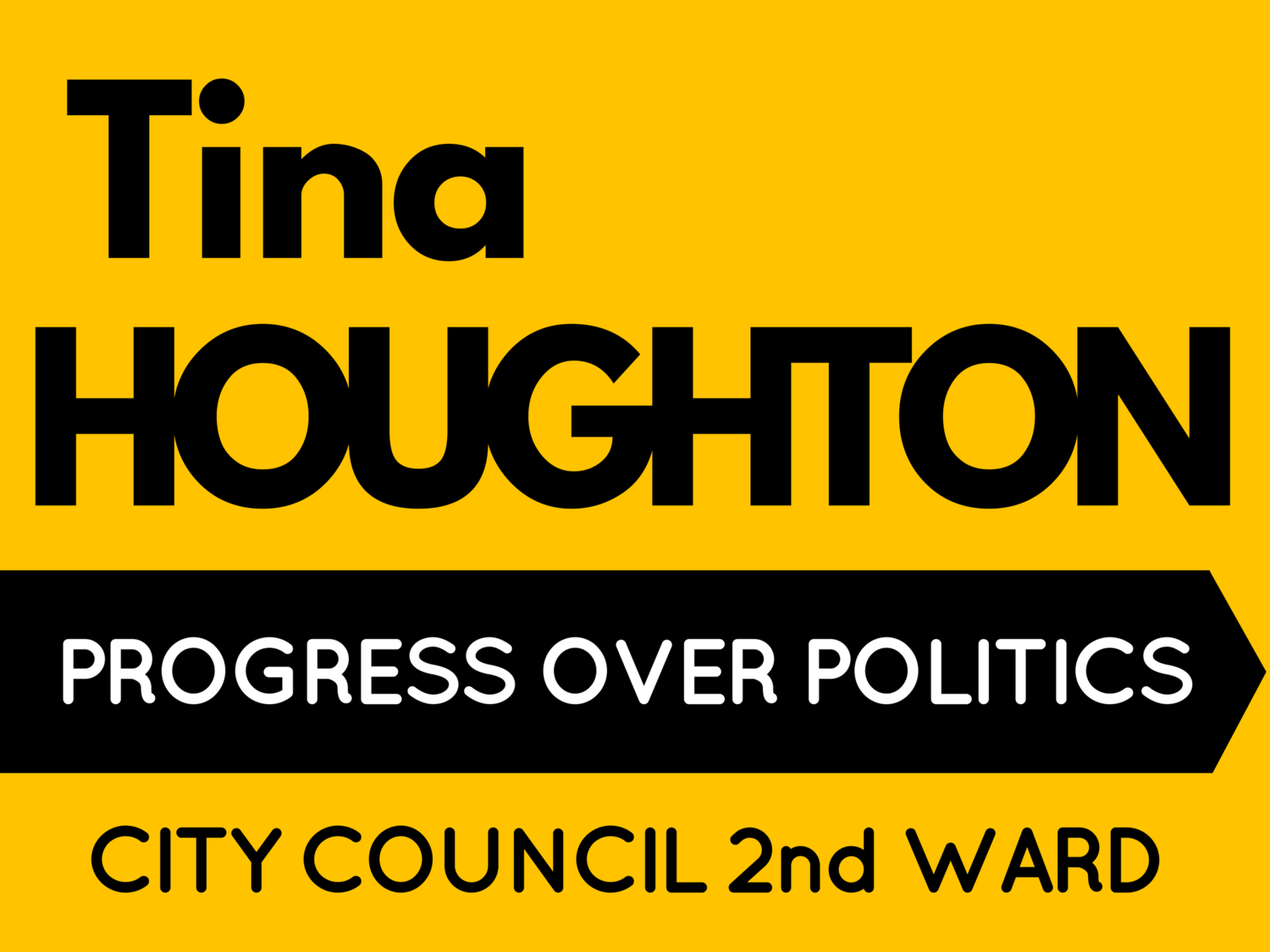 Tina Houghton for City Council