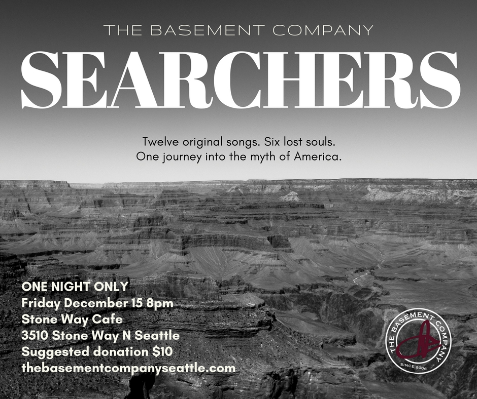 reserve your seat:info@thebasementcompanseattle.com - rsvp on facebook
