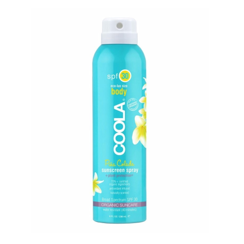 pina colada sunscreen spray - Smell even better than what you'll be drinking at the swim-up bar!