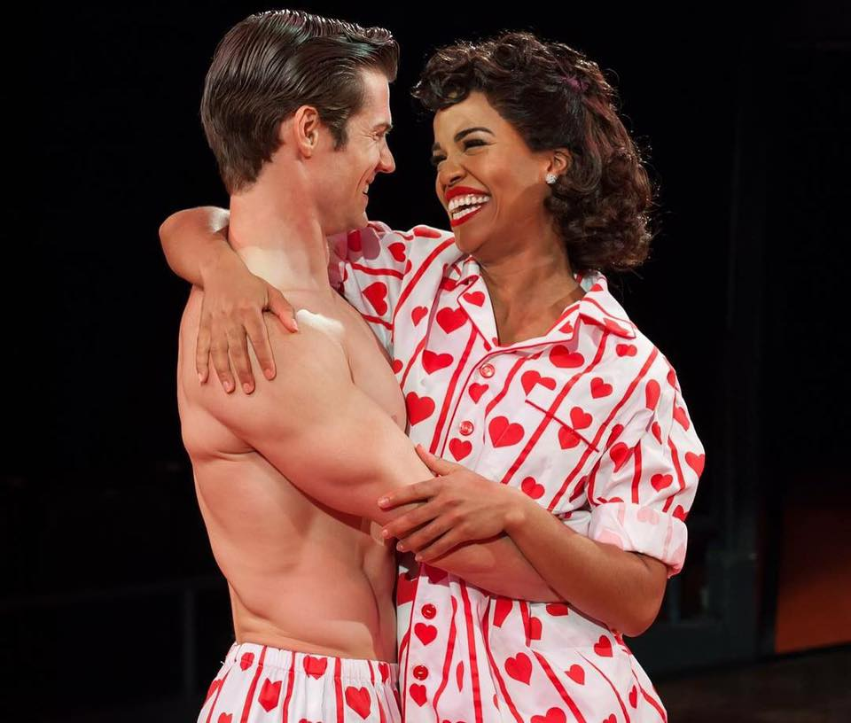 Britney Coleman  (Babe) in THE PAJAMA GAME at Arena Stage