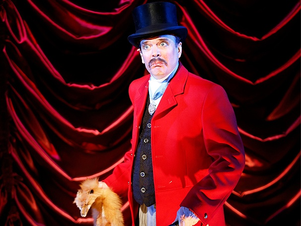 Jefferson Mays  in his Tony-nominated role(s) in A GENTLEMAN'S GUIDE TO LOVE AND MURDER on Broadway