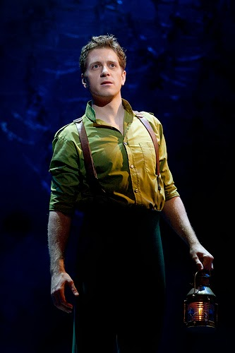 Andy Kelso  (Fiyero) on tour with WICKED