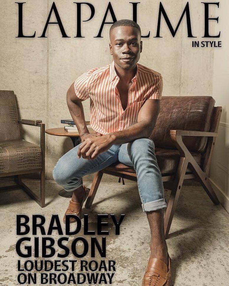 Broadway's new Simba  Bradley Gibson !
