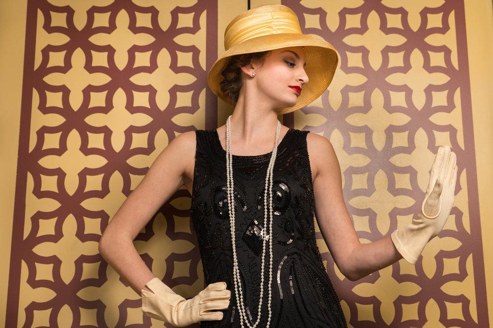 Kayla: 1920s.