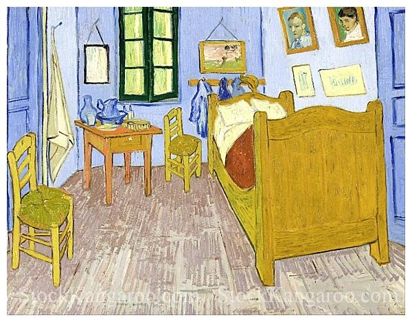 Bedroom in Arles by Vincent Van Gogh Painted in 1889 High Resolution ...