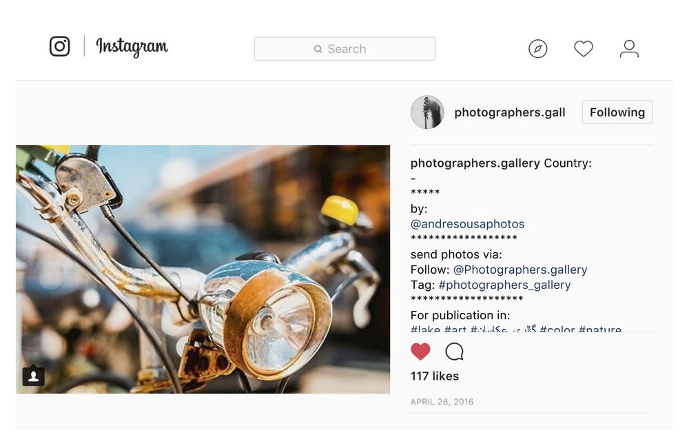 Photographers.Gallery - Photographers.Gellery (IG)
