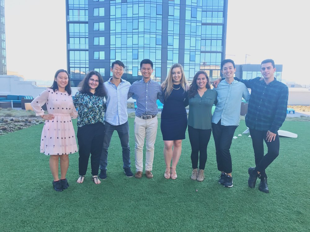 HUBBS members at Out for Undergrad Tech (OUTC) 2017 at Twitter HQ in San Francisco