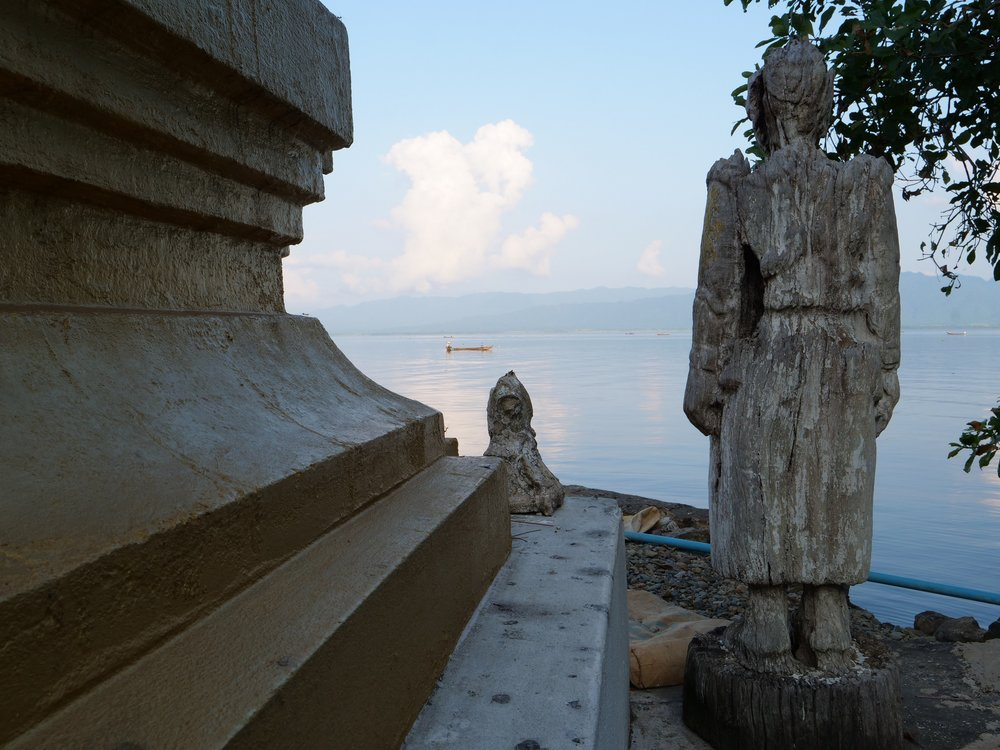 Pagoda near Lone Ton Village, Indawgyi Lake