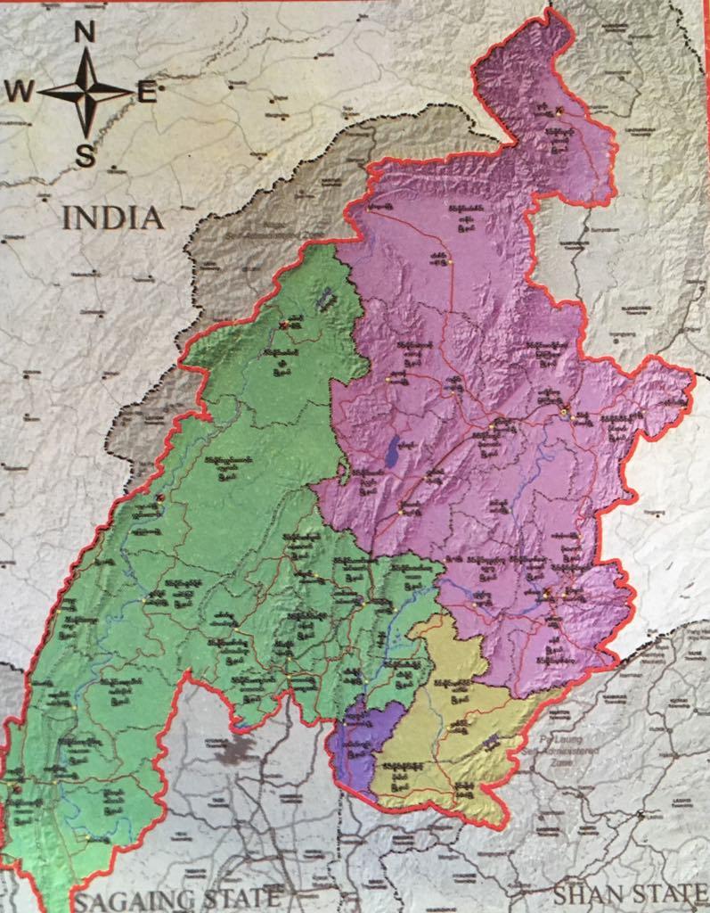Spread of the Shan-ni People in Myanmar