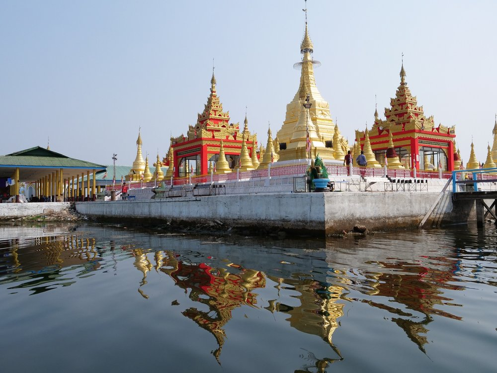 The Pagoda from The Water