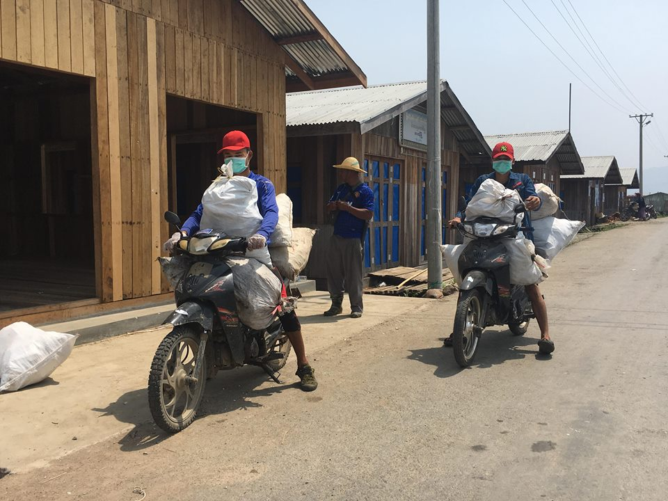 Carrying Trash to the Dump Site