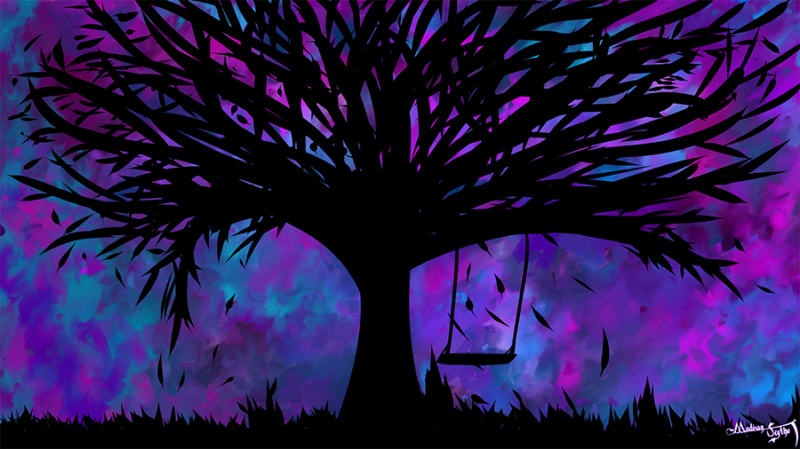 Tree Swing Wallpaper.png