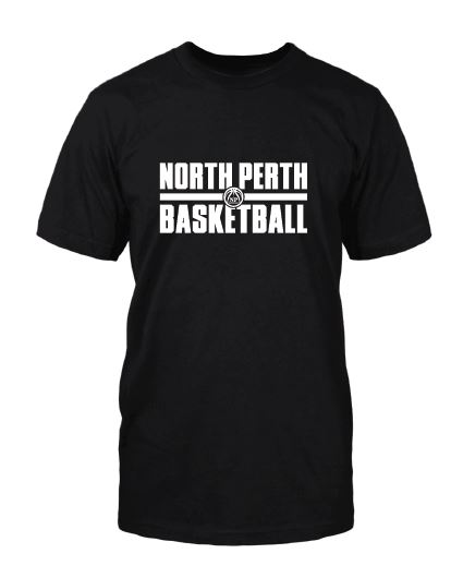 North perth basketball shirt