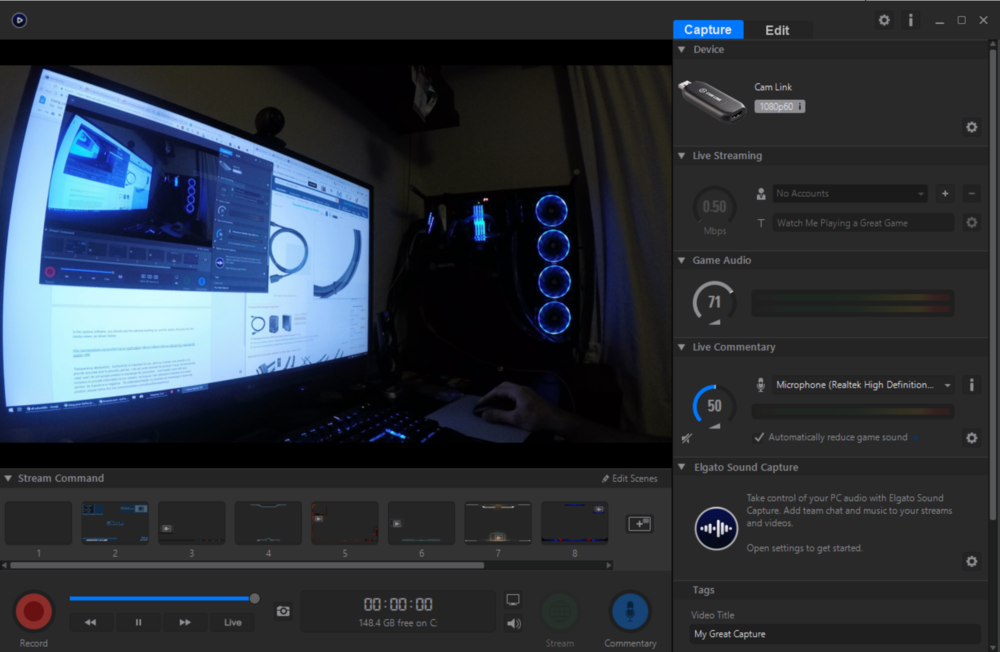 GoPro's don't like the dark! Adjust your exposure settings with Protune if you can't add more light to your scene!