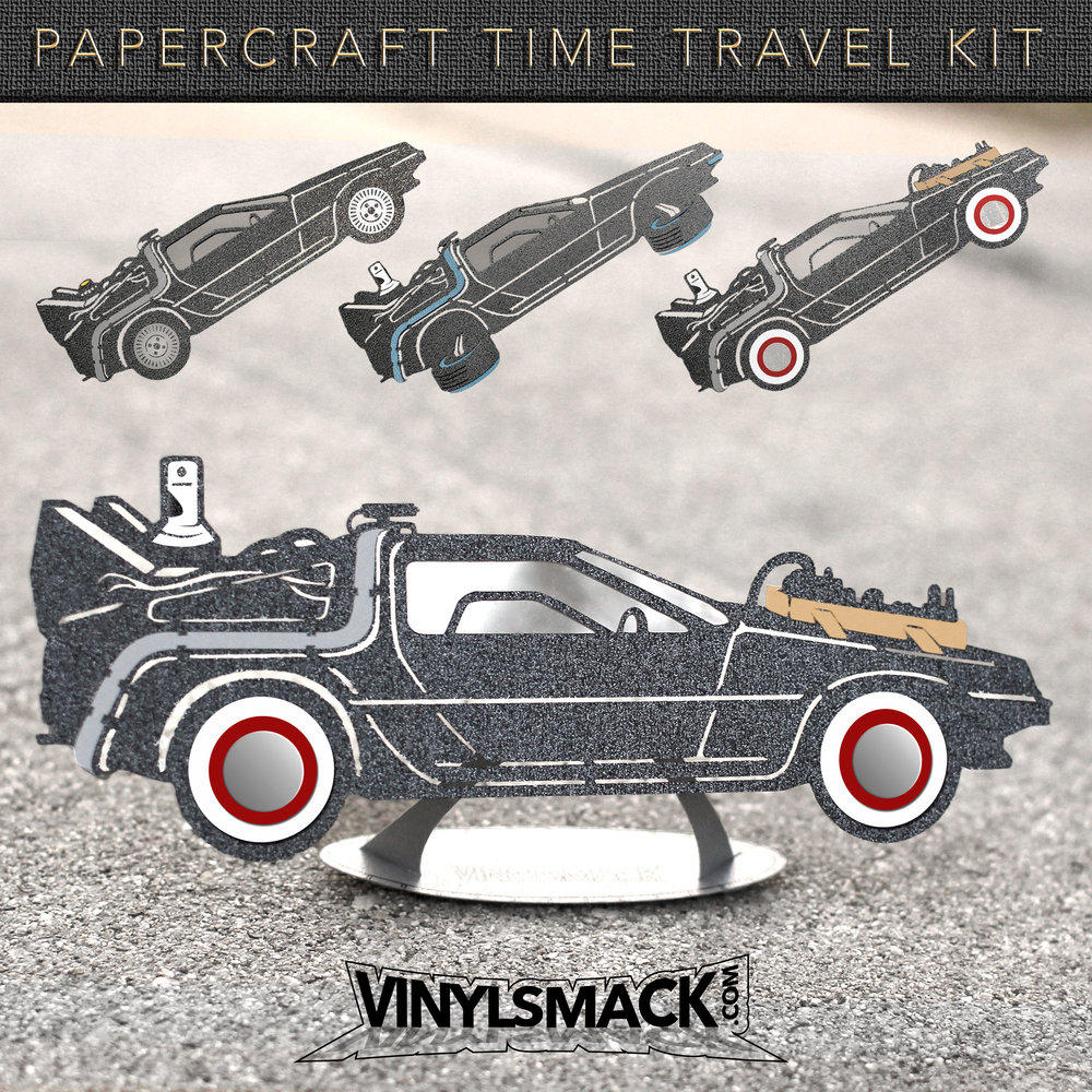 Papercraft Time Travel Kit - Car 3 Set.jpg