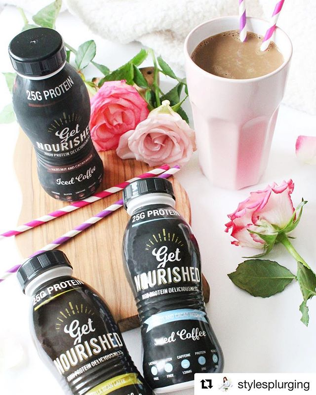 #Repost @stylesplurging - thanks for the review! ・・・ I've recently been trialling the new range of protein iced coffee's from @getnourisheduk as an alternative to my usual daily protein shakes, and let me tell you... I LOVE THEM! ... If you're a gym lover and a coffee lover but aren't the biggest fan of shakes, then these are for you! Check out my latest post (link in bio) to hear more! 💪🏻 ... #fitfam #fitness #fitnessblogger #protein #proteinsnack #proteincoffee #icedcoffee #getnourished #gains #fitnessmotivation #fitnessmotivation #lbloggers #bbloggers #gym #gymmotivation #bloggersofinstagram #forahappymoment #littlestoriesofmylife #theeverygirl #slowlived #photosinbetween #forahappymoment #momentsofmine #review #flatlay #flatlayoftheday #beautyblog