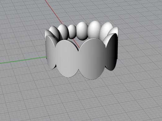 oval sphere Ring model Rhinoceros Screenshot.png