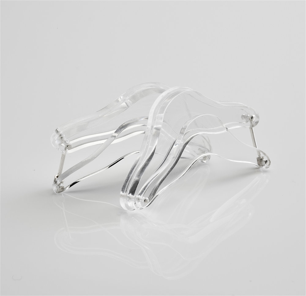 ghost earring layered acrylic transparent turn closure.jpg