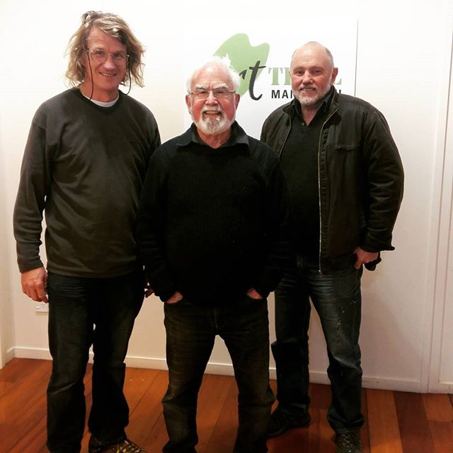Check out this trio!! Tom Turner, Jack Register and Colin Hoare are ready to host you..be prepared for a bit of banter too at 145 Cuba St! #Arttrailmanawatu #colinhoare #jackregister #tomturner #arttrailgentlemen! #145cubast #paintingdemonstrations #artbanter #makesmesmile!