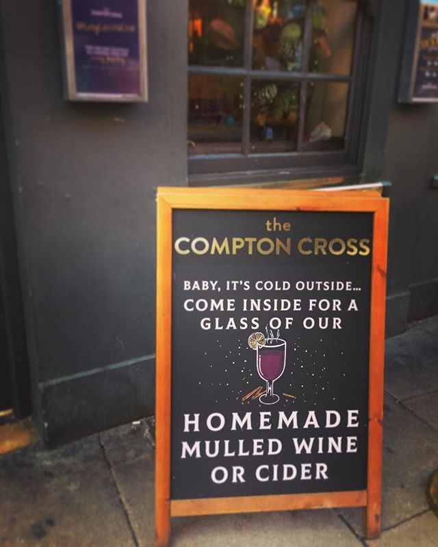 ITS BEGINNING TO LOOK A LOT LIKE CHRISTMAS.. Escape the winter chills and get warm with a glass of our homemade mulled wine or cider!  #comptoncrosschristmas #christmas #festive #mulledwine #mulledcider #infusions #cocktailbar #cocktailbarsoho #soho #london