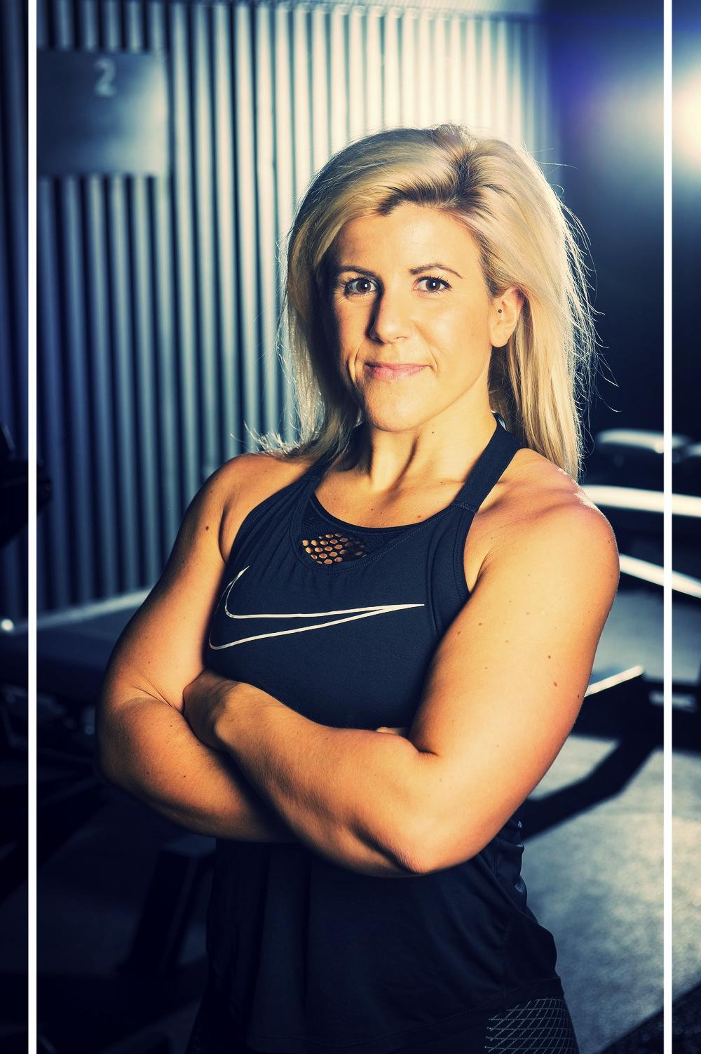 LAURA HOGGINS- OLYMPIC WEIGHTLIFTNG