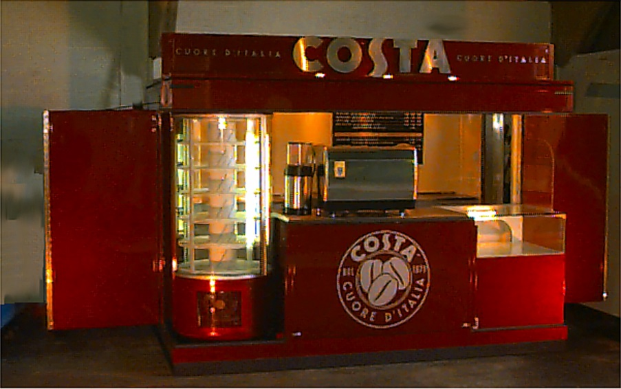 Exhibition trailers | Display Trailers | Coffee kiosks | Mobile display | Coffee kiosks | promotional units | Coffee