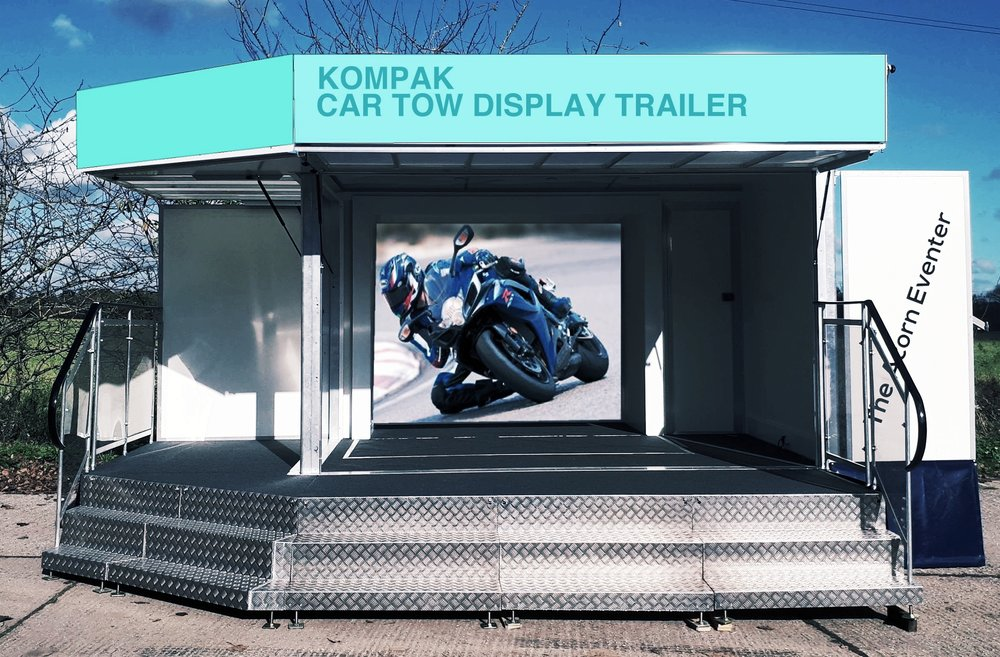 Exhibition trailers | Display Trailers | Promotional Vehicles | Mobile Display Unit | Promotional Trailer