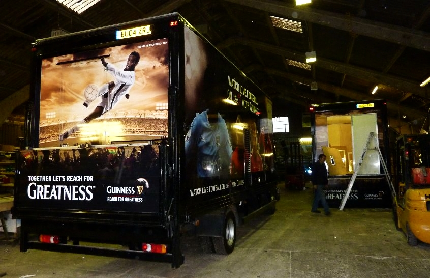 Exhibition trailers   Exhibition truck   Promotional Vehicles   Motorised display truck
