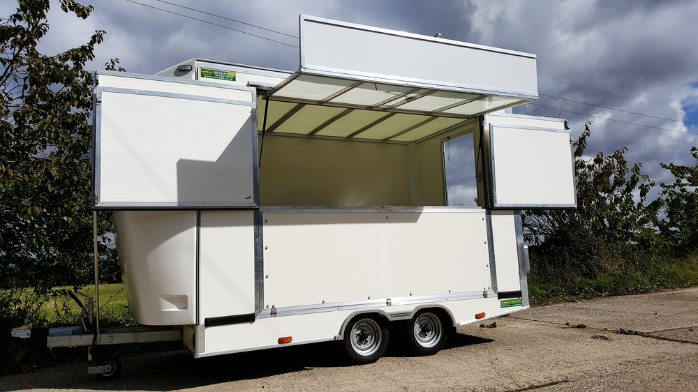 Exhibition trailer | promotional trailer | display vehicle | product display | Exhibition trailers