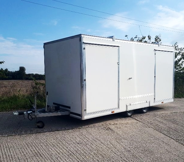 Mobile information unit | Mobile information trailer | Exhibition trailer | Exhibition trailers | Display unit | Tourist information trailer
