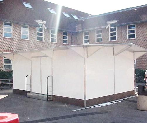 Large School School kiosk | Kiosk | School food kiosk | Mobile Catering Unit | Catering Kiosk | University food kiosk | College food Kiosk | Site office Kiosk | Playground kiosk | modular catering unit