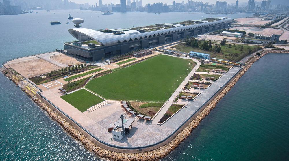kai tak runway park, hong kong  AECOM Hong Kong