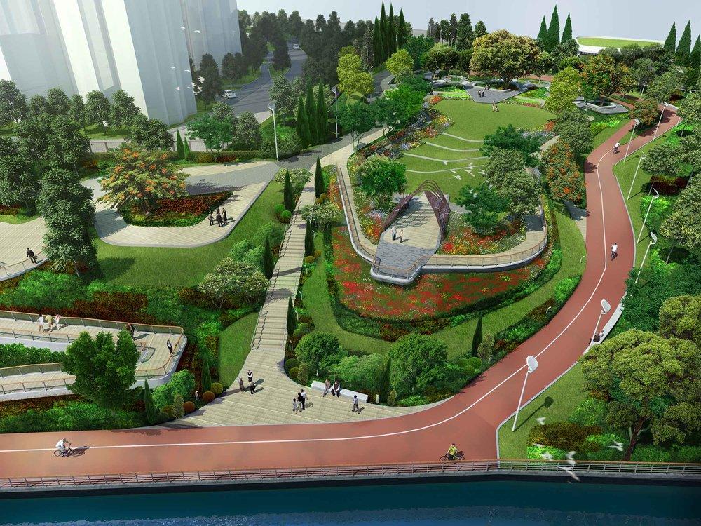 shilong promenade park, prc  Adrian L. Norman