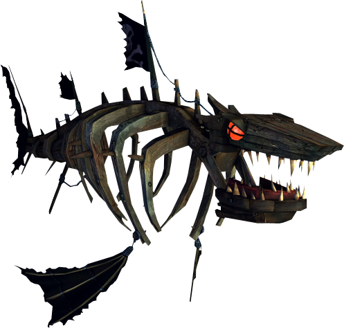 Alice: Madness Returns, 'Shipwreck Shark'