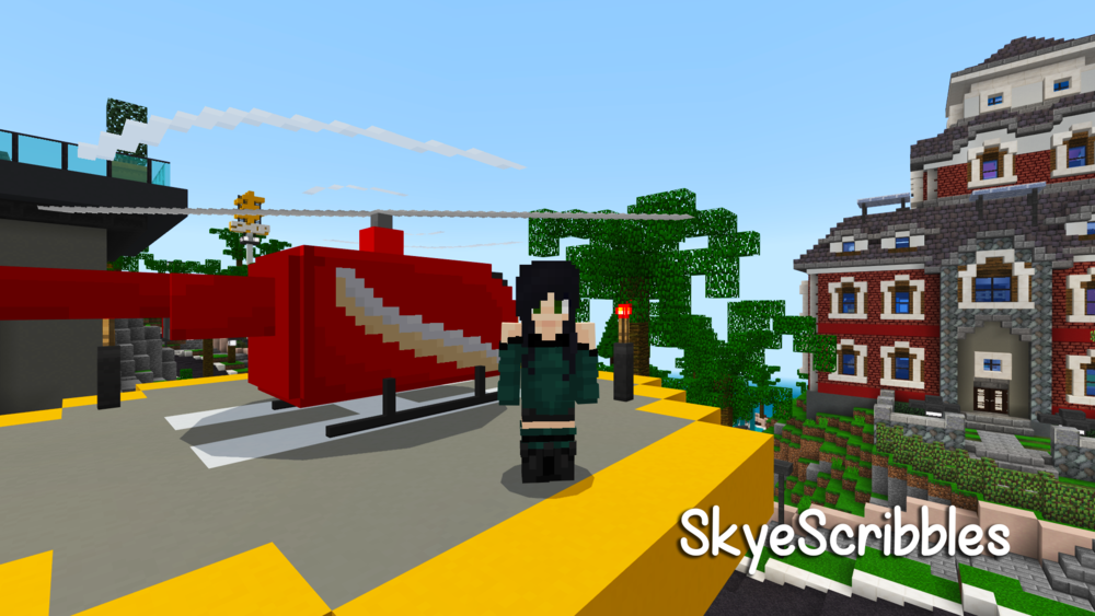 The multi-talented Skye joins our creative crew as a 3D model and pixel artist. With previous experience on the Minecraft marketplace, she'll also be lending a hand with our build team from time to time!