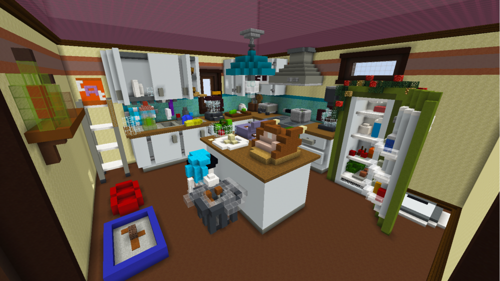 The kitchen during the build