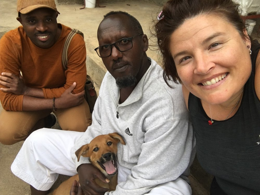 "Jenn, Venerable, and Sinzi ""go far"" together in Rwanda"