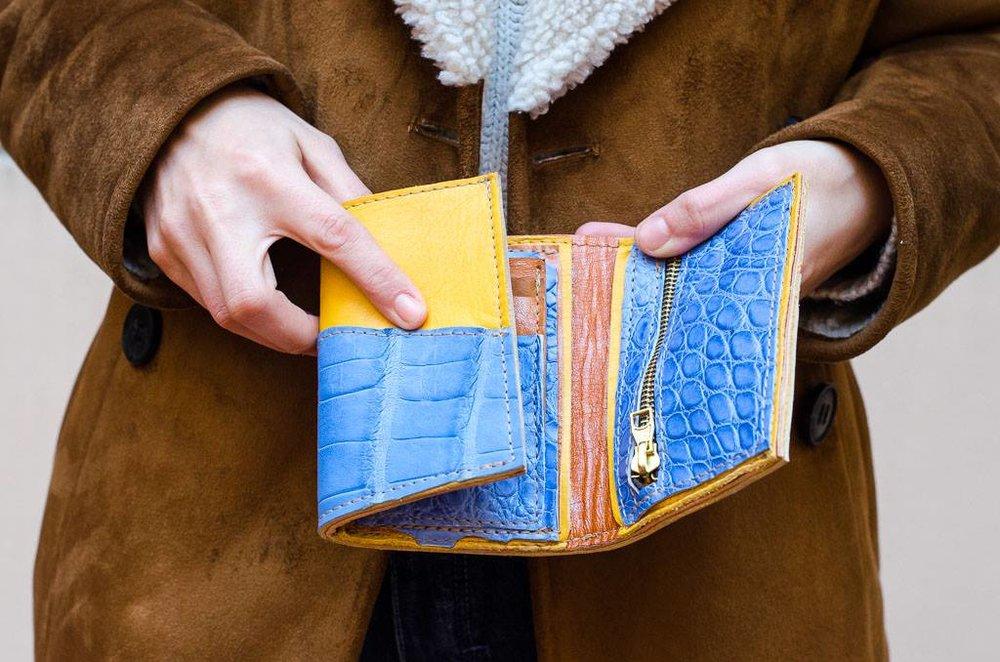 fiammetta wallet - 70 euro