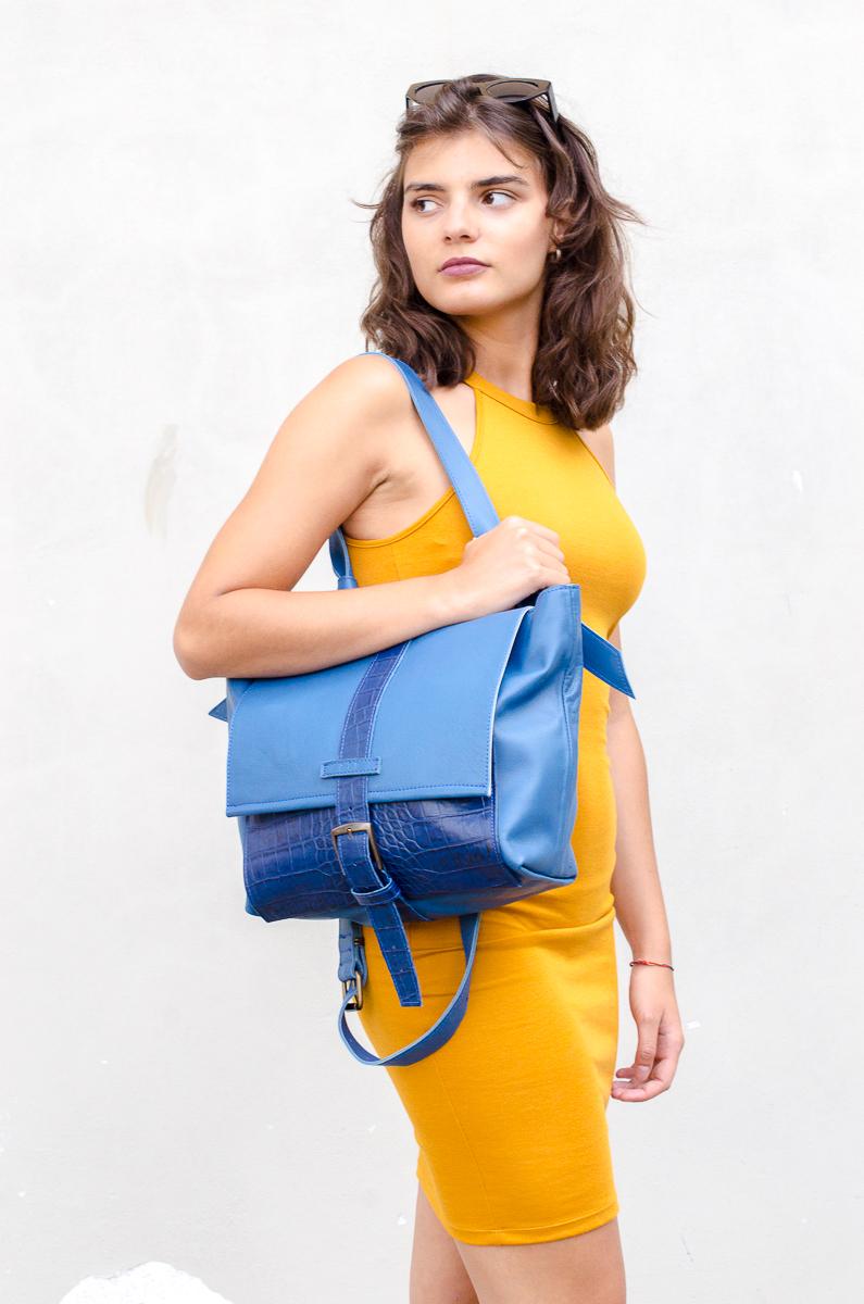 nucci bag blue - 240 euro